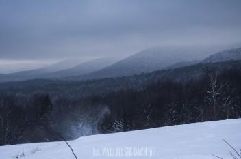 Bieszczady zimą