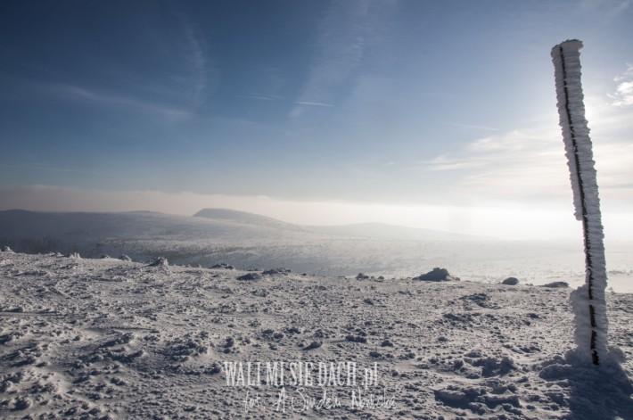 Karkonosze zima 2015