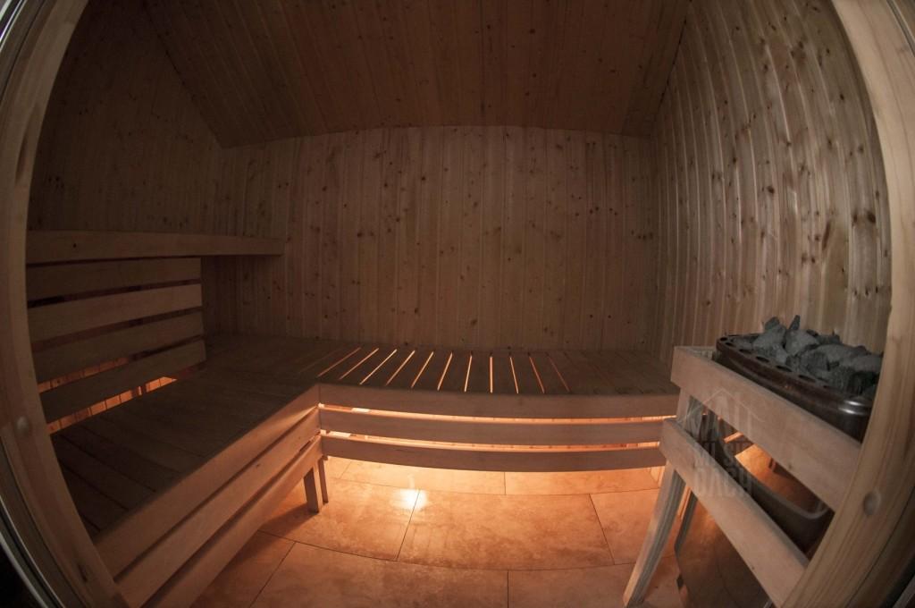 sauna w siedlisku