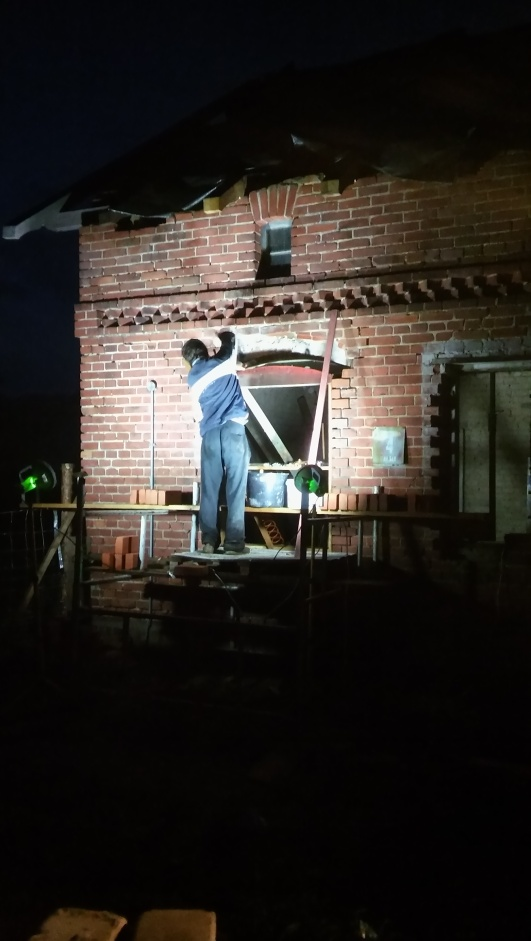 murowanie okna
